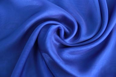 Шифон 30D шифон (36# синий электрик) фото