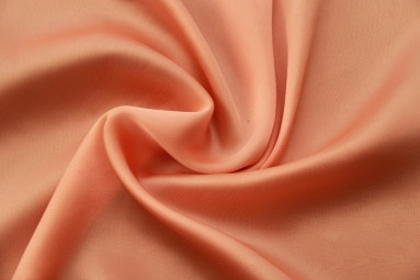 Шифон 30D сатин шифон (17# оранжевый) фото
