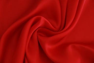 Шифон 30D сатин шифон (27# красный) фото