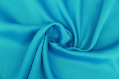 Шифон 30D сатин шифон (11# голубой) фото