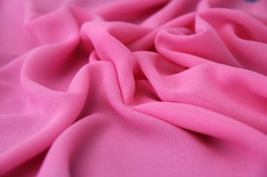 Шифон 75D креп шифон (29# розовый) фото