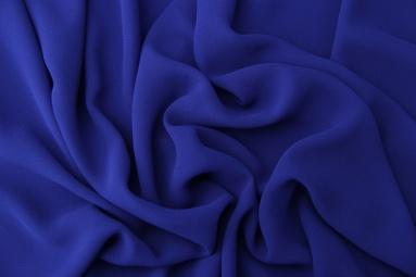Шифон 75D креп шифон (36# синий электрик) фото