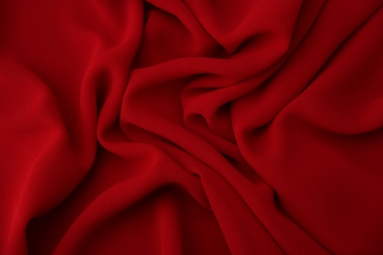 Шифон 75D креп шифон (27# красный) фото