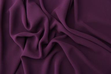 Шифон 75D креп шифон (9# фиолетовый) фото