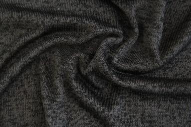 В'язана тканина PSJ213 (DARK GREY/BLACK) фото