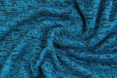 В'язана тканина PSJ213 (BLUE/BLACK) фото