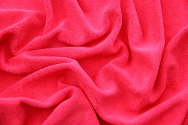 Махрова тканина 15JJRUFB0001 (DEEP PINK) фото