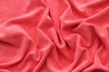 Махрова тканина 15JJRUFB0001 (HOT CORAL) фото