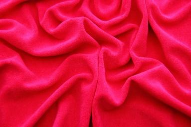 Махрова тканина 15JJRUFB0001 (RED) фото