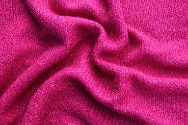В'язана тканина 8016A (13# violet red) фото