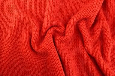 В'язана тканина 8022 (17# Red) фото