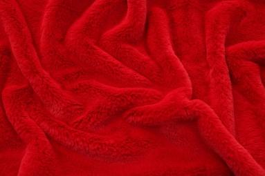 Штучне хутро 25022 (Dark red) фото