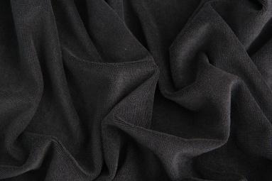 Махрова тканина 15JJRUFB0001 (BLACK) фото