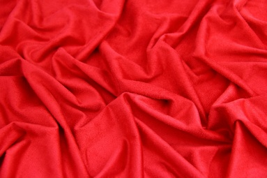 Замша штучна  15JJRUTJ0001 (RED) фото