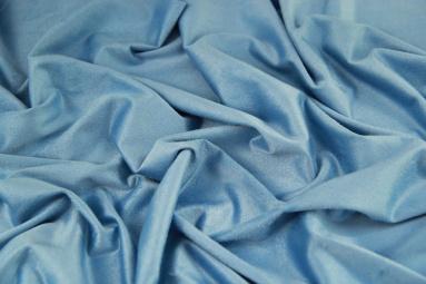 Замша штучна  15JJRUTJ0001 (L.BLUE) фото