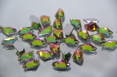 11.5*19 (140PCS) (12#AB Pink/Green) фото