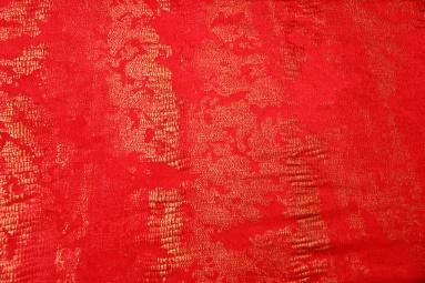 Замша штучна  15JJRUTJ0001 P (RED) фото