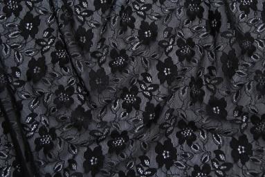 Гіпюр X12-122# (BLACK) фото