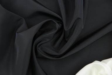 Плащова тканина 50D*50D 95 (19-4007 BLACK) фото