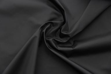 Плащова тканина 50D*50D 89 (19-4007 BLACK) фото