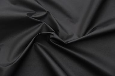 Плащова тканина 30D*(50D*50D)67 (19-4007 BLACK) фото