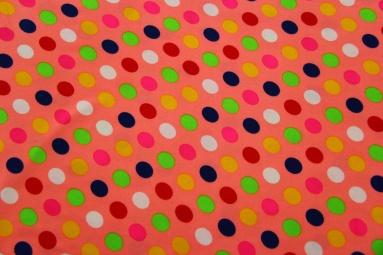 Стрейч-кулір Точки разноцветные фото