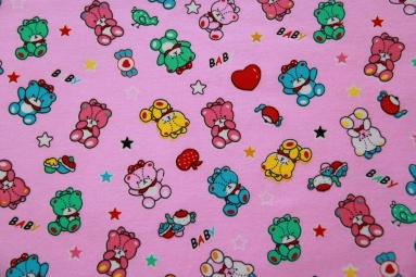 Стрейч-кулір 4446#К (розовый) фото
