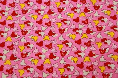 Ситець 6047 (розовый) фото
