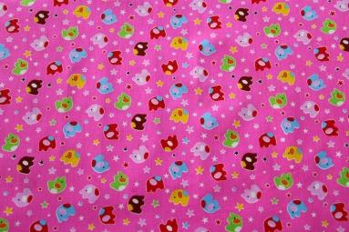 Ситець 6051 (розовый) фото
