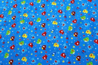 Ситець 6051 (синий) фото