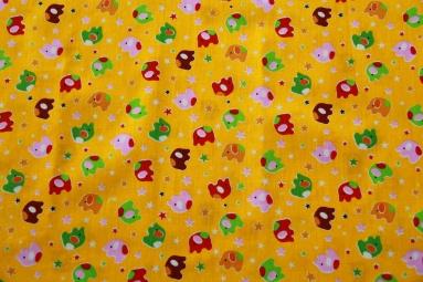 Ситець 6051 (желтый) фото
