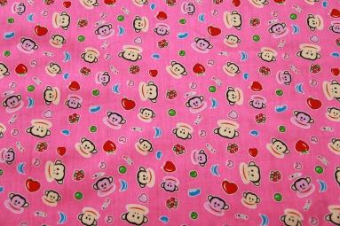 Ситець 4511 (розовый) фото