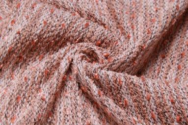 В'язана тканина QK3334 (2# бледно-оранжевый) фото