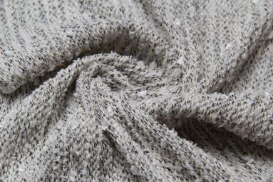 В'язана тканина QK3334 (3# белый) фото