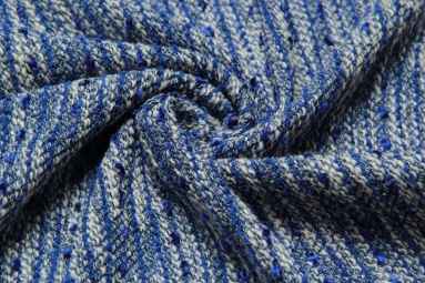 В'язана тканина QK3334 (5# синий) фото
