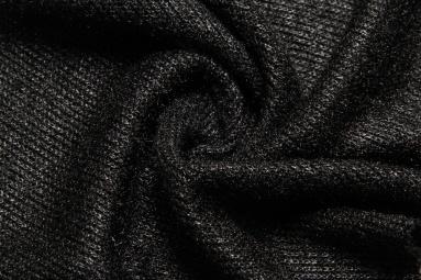В'язана тканина H038-35 (черный) фото