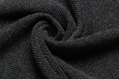 В'язана тканина 14902 (10# черный) фото