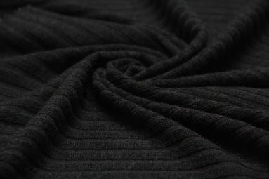 В'язана тканина 2762 (9# черный) фото