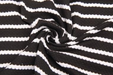 В'язана тканина 14-126 (Черный) фото