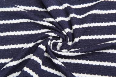 В'язана тканина 14-126 (Синий) фото