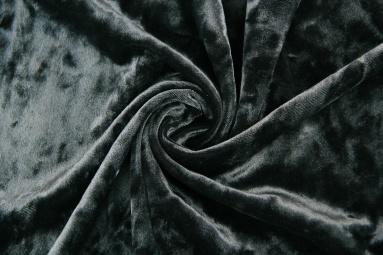 Оксамит 1183 (темный серый) фото